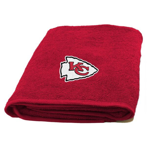 NFL Applique 100% Cotton Bath Towel by Northwest Co.